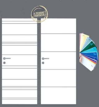 Choix de couleurs pour portes intérieures