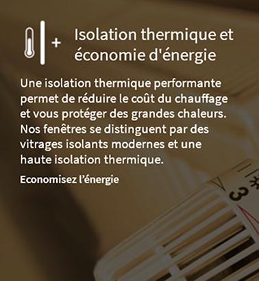 Isolation thermique et économie d'énergie avec les fenêtres Finstral